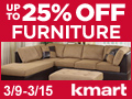 Kmart - Up To 25% off Furniture! Save on Futons, Bedroom Furniture & more + EXTRA 10% off orders of $75.