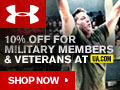Under Armour offers a Military Discount