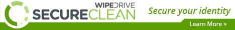 SecureClean-Clean hard drives of unwanted files