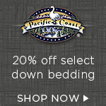 20% Off of Select Items at Pacific Coast Feather