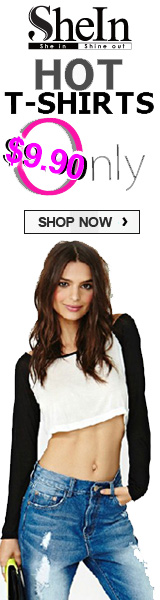 Get Hot T-Shirts for $9.90 Only at SheIn.com