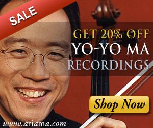 Yo-Yo Ma Albums On Sale At Ariama.com