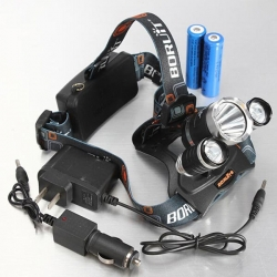Popular Item - $10.99 for XM-L 3*T6 10W 3 Modes 1000LM White Light Headlamp
