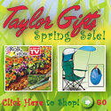 Taylor Gifts Spring banner
