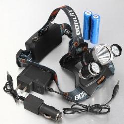 Popular Item - $10.99 for XM-L 3*T6 10W 3 Modes 1000LM White Light Headlamp