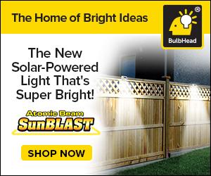 Image for Atomic Beam SunBlast Motion Sensor Light