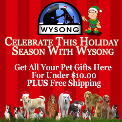 Get pet gifts for under $10 at Wysong today!