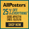 Save 28% on all orders of posters, art, photography and more at AllPosters.com! Code: LOVEART116 (en