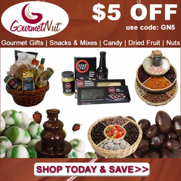 GourmetNut.com - 600x600 - $5 OFF