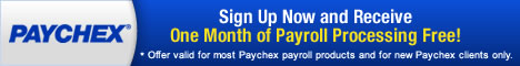 Paychex Payroll Services: Sign up Today!