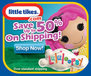 Up to 50% off shipping on Lalaloopsy dolls!
