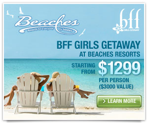 Girlfriends Getaway At Beaches Resorts