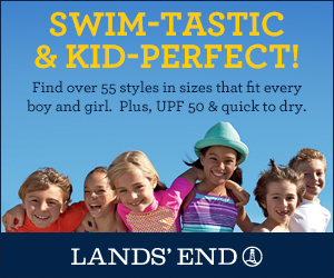 Lands' End Kids Swim