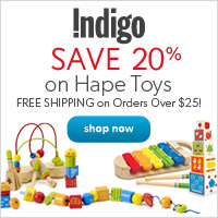 Save 20% on Hape Brand Toys!
