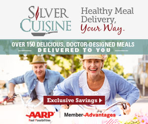 300x250 Silver Cuisine with AARP Members