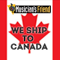Musician's Friend ships to Canada.