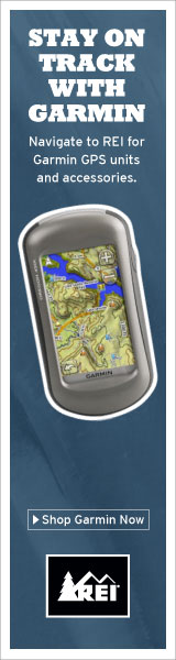 Garmin GPS at REI