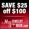 Save $25 On Orders Over $100! The latest styles of rings, earrings, necklaces, bracelets, diamond jewelry and more at MyJewelryBox.com! Use Coupon Code: 25OFF