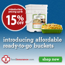Affordable emergency food supply by Food Insurance