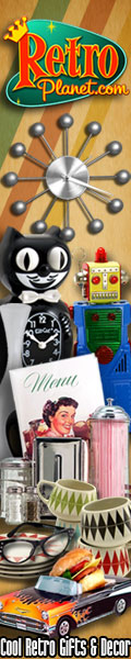 Cool Retro Gifts and Decor