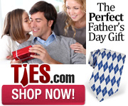 Pick up a unique tie for Father's Day!