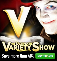 V-The Ultimate Variety Show - Save 40% on Tickets!