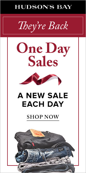 (11/09-12/20) One day sales are back! A new sale each day!