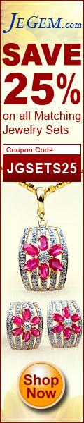 JEGEM.com has authentic gemstone Jewelry hadmade at 50-70% savings