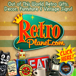Cool Retro Gifts and Decor from RetroPlanet.com