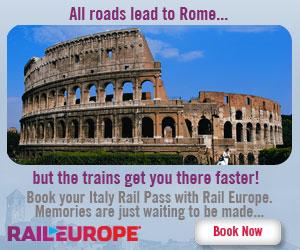 Italy Rail Pass from Rail Europe