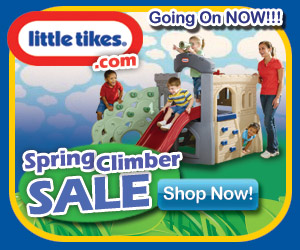 Spring Climber Sale at LittleTikes.com!(med rect)