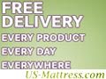 Free Delivery.  Everything.  US-Mattress.com