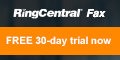 Get rid of your fax machine.  Try RingCentral