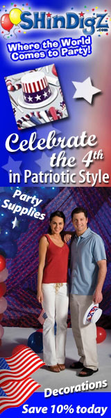 4th of July Party Supplies - ShindigZ.com
