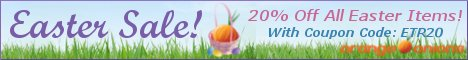 Save 20% On All Easter Items at OrangeOnions