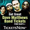 Buy Dave Matthews Band tickets at TNow