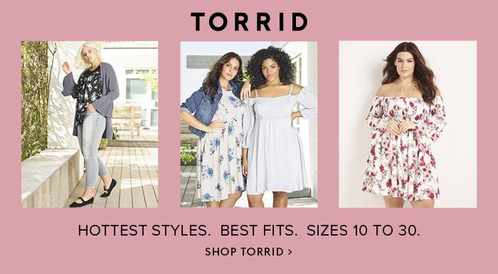 Torrid fashions- Torrid,  Plus Size,  Apparel,  Womens Apparel,  Fashion,  Clothing
