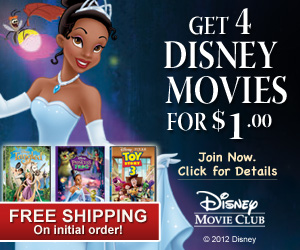 Get 3 Disney Movies for $2.99 Each, Free Shipping!