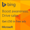 UK: Search Advertising sign up page
