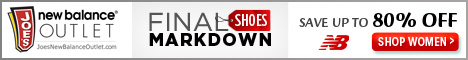 Women's Final Mark Down: select shoes now $29.99!