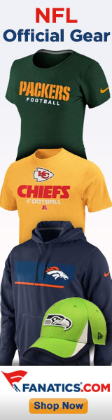 Shop for officially licensed NFL Gear!