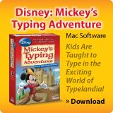 disney mickys typing adventure