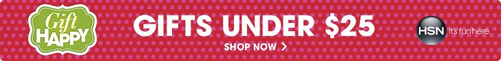 Gift Happy - shop gifts under $25 only at HSN.