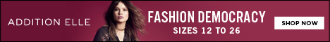Fashion democracy in sizes 12 to 26. Shop plus size fashion @AdditionElle