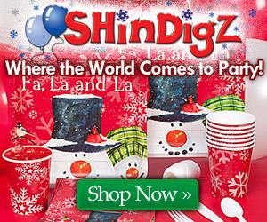 Holiday Party Supplies @ ShindigZ.com