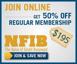 Join online & get 50% off NFIB regular membership