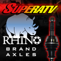 SuperATV Rhino Brand Axles - The biggest and strongest axle on the market