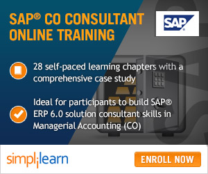 SAP CO Certification Training
