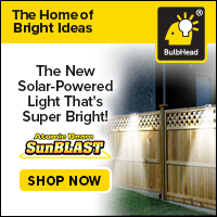 SunBlast Solar-Powered Light