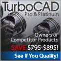 TurboCAD Pro Platinum - Competitive discount!